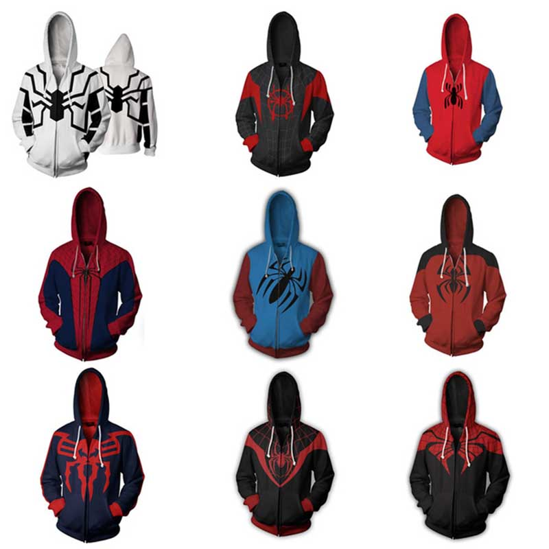 Movie Star Wars robot R2 Sweatshirts Cosplay Costumes Autumn Kids men and women anime 3D Printing zipper Jacket Hooded sweater