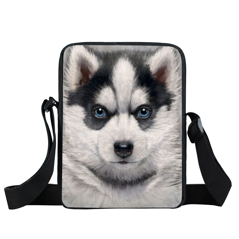 Puppy Dog Mini Messenger Bag Casual Women Handbag Pet German Shepherd / Rottweiler Kids Cross Bags Grumpy Cat Boy Girls Book Bag сандалии betsy сандалии
