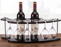 High quality Wine Rack Bar Wine Holder Wooden Fine wine rack hight 21.5 cm width 18.5 length 53cm