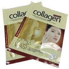 Collagen Essence Whole Face Sheet Mask for Moisturizing Whitening Skin Care Treatment Anti aging Masks 1PCS Free Shipping