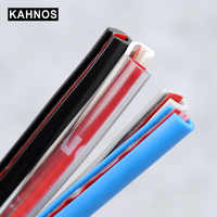 Car-Styling Strips Rubber Edge Doors Moldings Car Door Protection Side Protector Sticker Scratches Vehicle For Car Auto