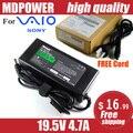 Mdpower для SONY VIAO S138EC / G зарядное устройство блок 19.5 В 4.7A
