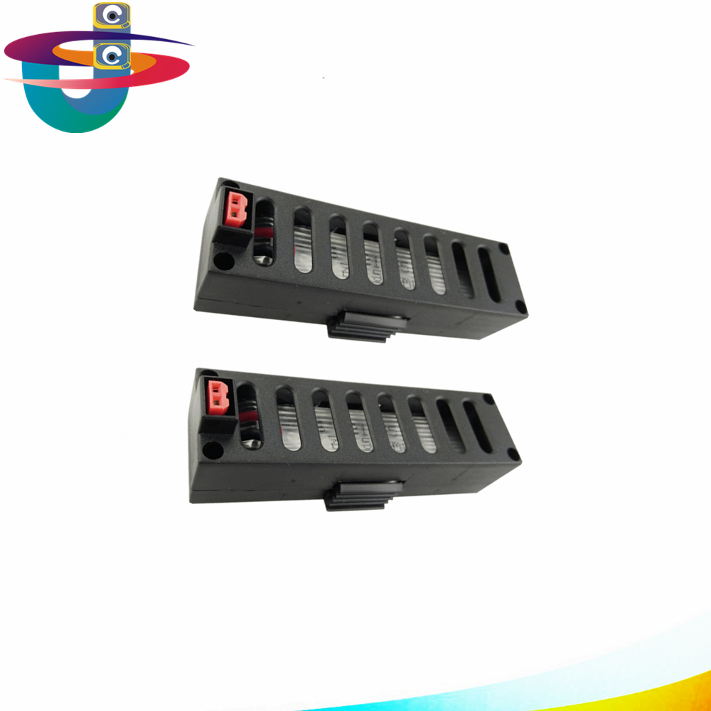 2 pz 3.7 V 500 mAh batteria per JY018 GW018 EACHINE e52 wifi quadcopter rc drone di ricambio