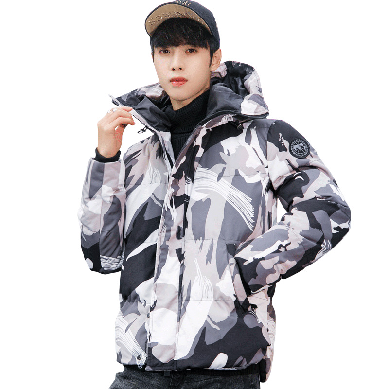 Strict Streetwear Coat Clothes Man Jacket Winter Warm Thick Camouflage Jackets Fashions Overcoat Parka Giubbotti Uomo Invernali Zl1174 Jackets & Coats