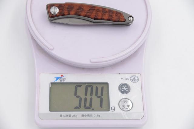 JUFULE Made Mnandi M390 Blade snake wood Titanium handle folding copper washer hunt camp Pocket Survival EDC Tool kitchen knife
