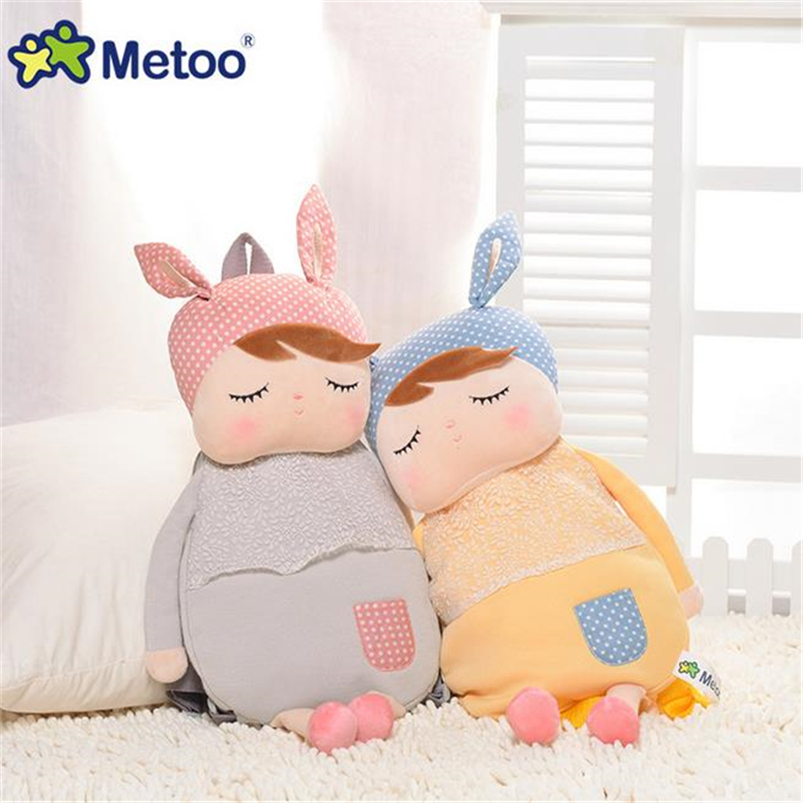 New Arrival Plush Cartoon Bags Kids Metoo Plush Backpack School Bags Children Shoulder Bag for Kindergarten Girl WL68