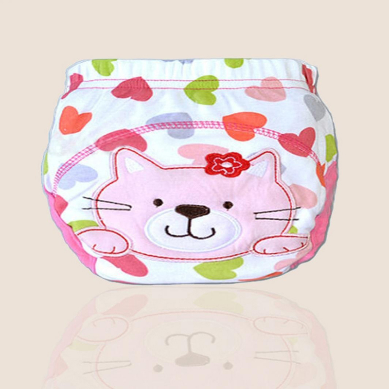 Sincere 1pcs Cute Baby Diapers Reusable Nappies Cloth Diaper Washable Infants Children Baby Cotton Training Pants Nappy Changing Monkey Baby Nappies