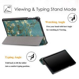 Image 5 - Ince kabuk Samsung kılıfı Galaxy Tab A 10.1 2019 hafif standı kapak Samsung Galaxy Tab için bir 10.1 inç T510 t515 Tablet