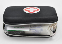 NEW Survival Necessary Emergency Wool Fabric Medicine Bag First Aid Kit Medical Emergency Treatment Pack