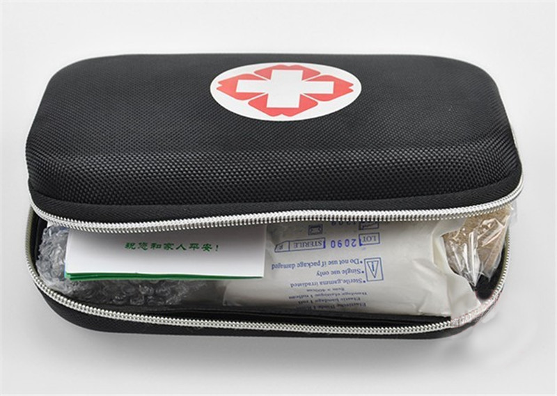 NEW Survival Necessary Emergency Wool Fabric Medicine Bag First Aid Kit Medical Emergency Treatment Pack first aid for the emergency medicine boards