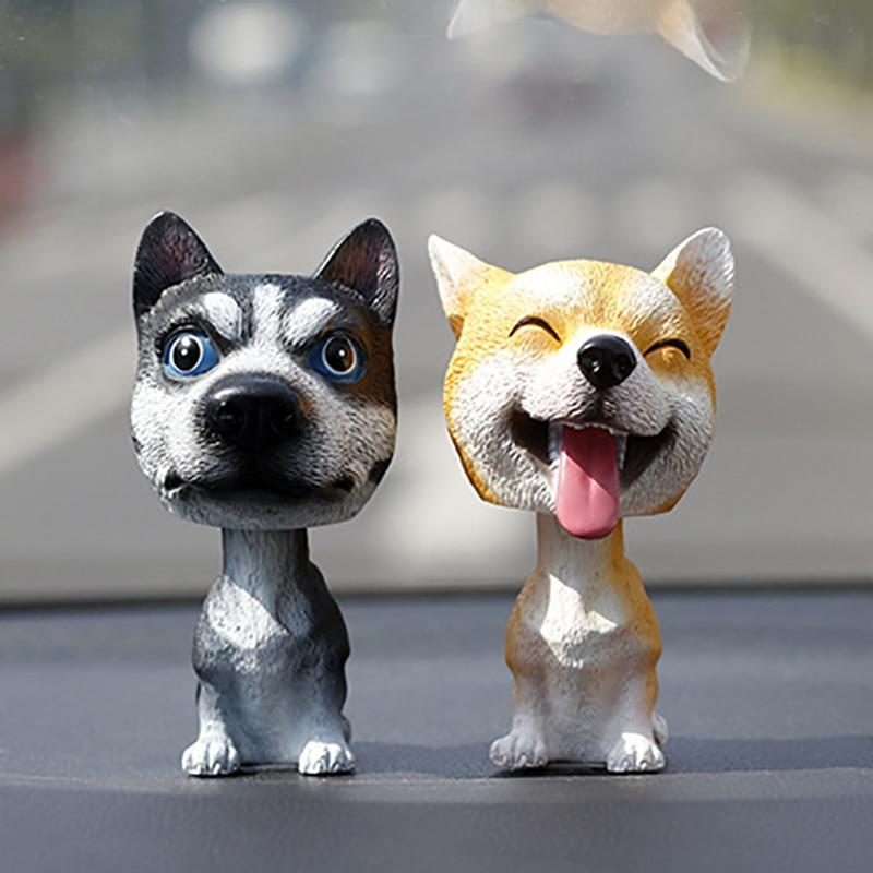 Brand New dog nod Bobblehead Gift Cute car home interior decoration