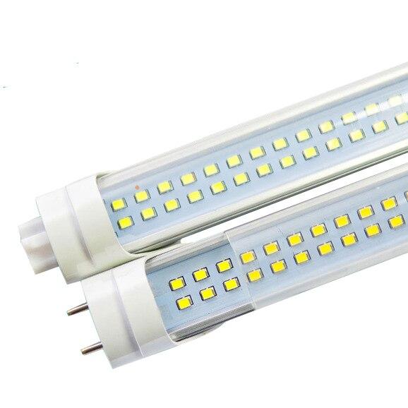 10X Led Tube T8 600mm 2ft High Power Led Tube Light Lamp Home 2feet LED Tube T8 18W G13 AC 100-240V 220V SMD2835 144pcs DHL