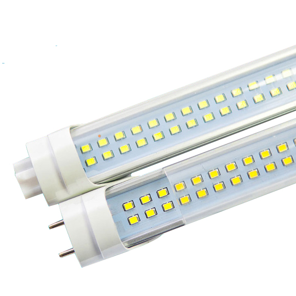 2X <font><b>Led</b></font> Tube <font><b>T8</b></font> 600mm 2ft High Power <font><b>Led</b></font> Tube Light <font><b>Lamp</b></font> Home 2feet <font><b>LED</b></font> Tube <font><b>T8</b></font> 18W G13 AC 100-240V 220V SMD2835 144pcs image