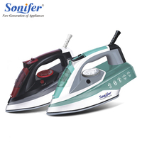 2200W Original Colorful Portable Electric Steam Iron For Clothes High Quality Three Gears Ceramic Soleplate 220V