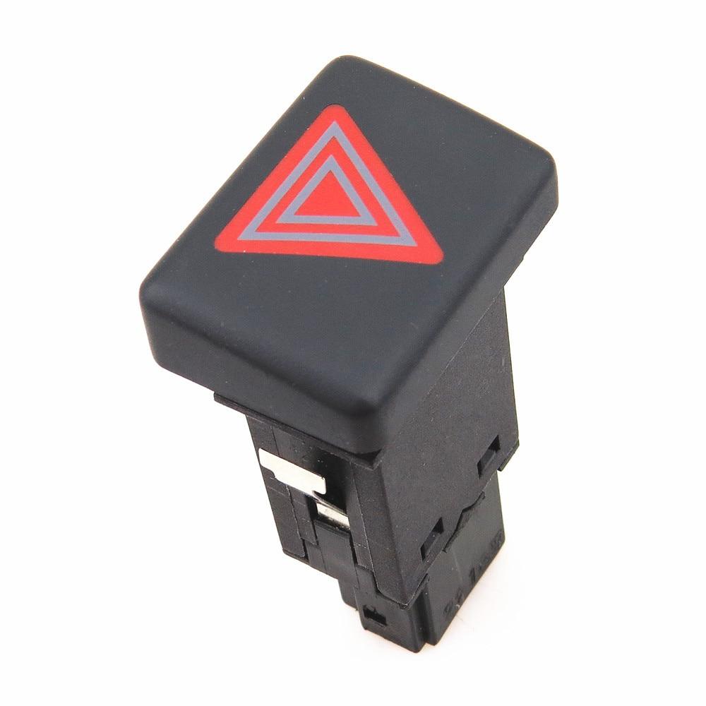 READXT Voiture Rouge Danger D'avertissement D'urgence Flash Interrupteur Bouton Pour A4 B6 S4 RS4 2004 8E0 941 509 5PR 8ED941509 8ED 941 509