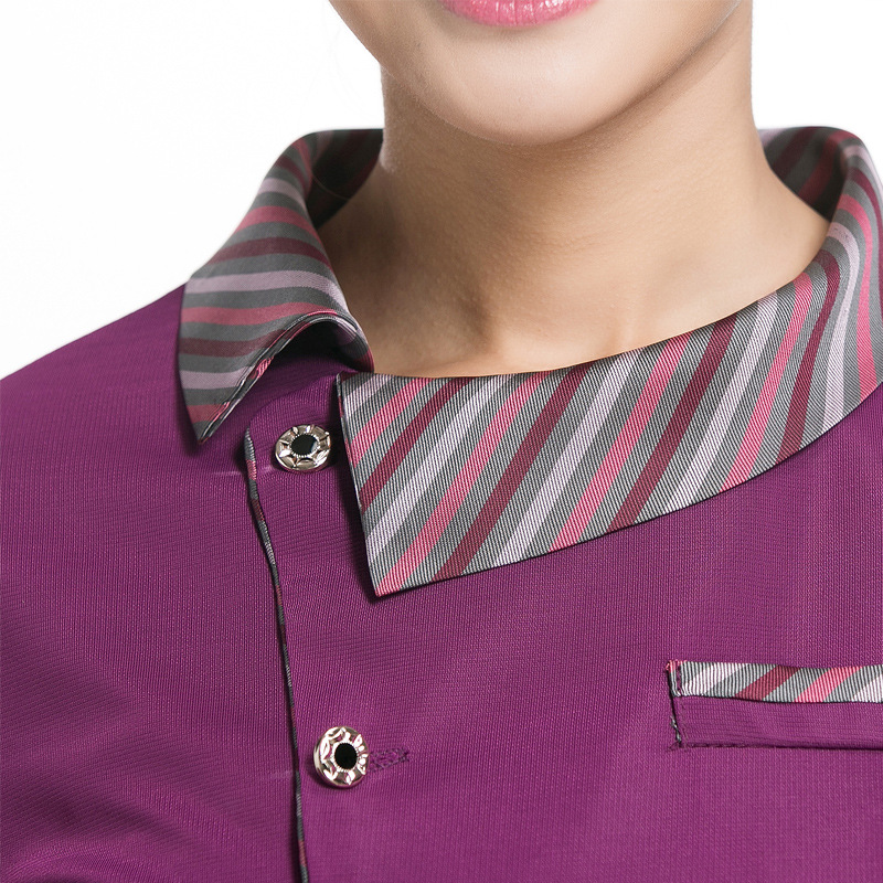 Chinese Waitress Uniform Restaurant Waiter Uniform Hotel Supplies Hotel Cleaner Uniforms Summer Waiter Wear