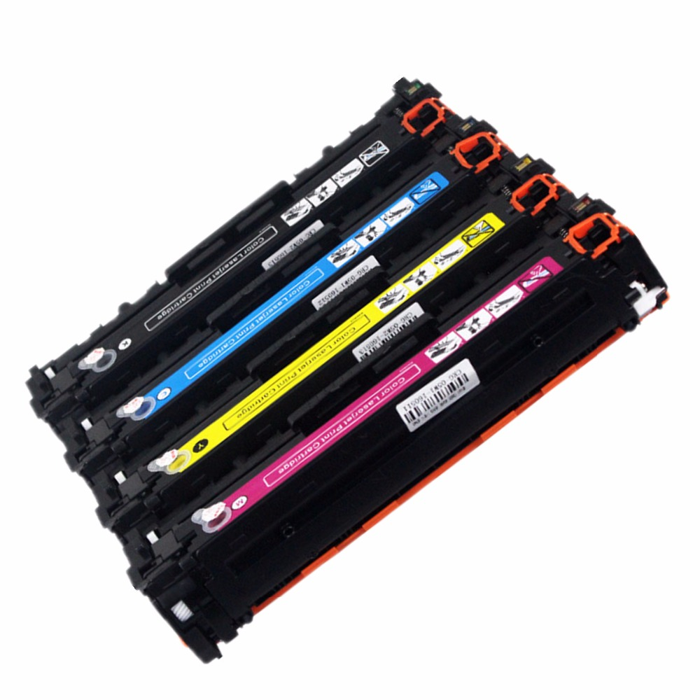 Laser 128A Toner Cartridge CE320A CE321A CE322A 320A CE323A Replacement For Color CP1525n CP1525nw Pro CM1415 CM1415fn CM1415fnw
