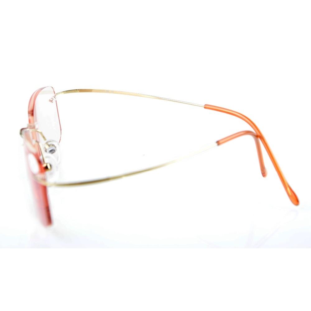 2519c63c3553 CG1508 Eyekepper Titanium Rimless Amber Tinted Lenses Computer Reading  Glasses Readers Light Lens+0.0 1.0 1.25 1.5 1.75 2.0 2.25-in Reading Glasses  from ...