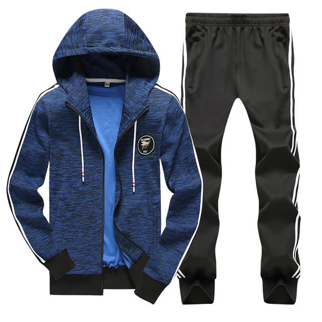 men's sets Spring Autumn Men Sportswear casual tracksuit Women's Two Piece Hoodies pants Jack Drawstring Couple track suit Bape