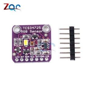 CJMCU-34725 TCS34725 Sensor de Cor Sensor de Cor RGB com IR Filtro Módulo Placa de Desenvolvimento para Arduino UNO R3