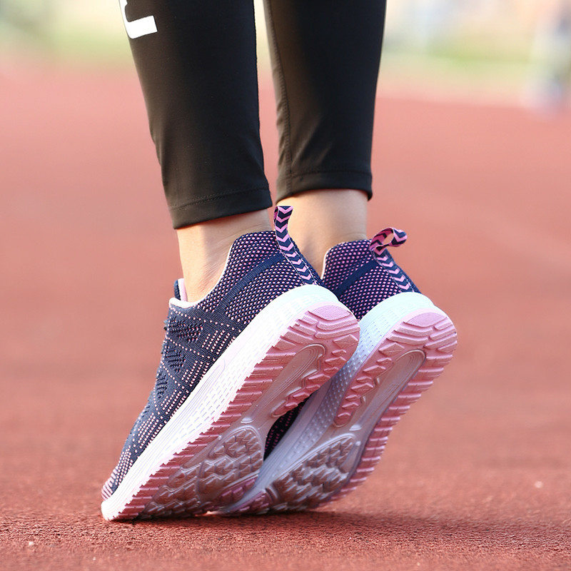 Air Cushion Original Breathable Sneakers Women Summer Springs Athletic Outdoor Sports Entertainment Shoes Women Running Shoes 25
