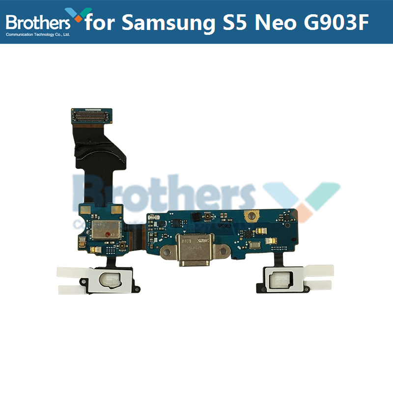 Micro Charger For Samsung Galaxy S5 Neo G903F USB Charging Dock Flex Cable For Samsung G903F Charger Port Phone Replacement Top