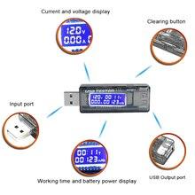 лучшая цена Detector Charger Indicator QC2.0/3.0 Digital USB Tester DC Voltmeter Meter Voltage Current Power Amperimetro AMP Volt Ammeter
