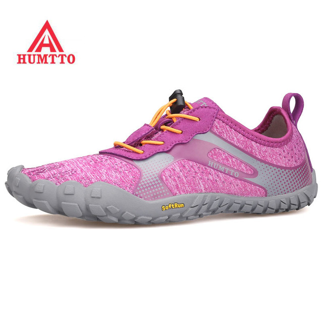 2018 HUMTTO Women's Summer Five Finger Outdoor Hiking Trekking Sneakers Shoes For Women Sports Climbing Mountain Footwear Shoes