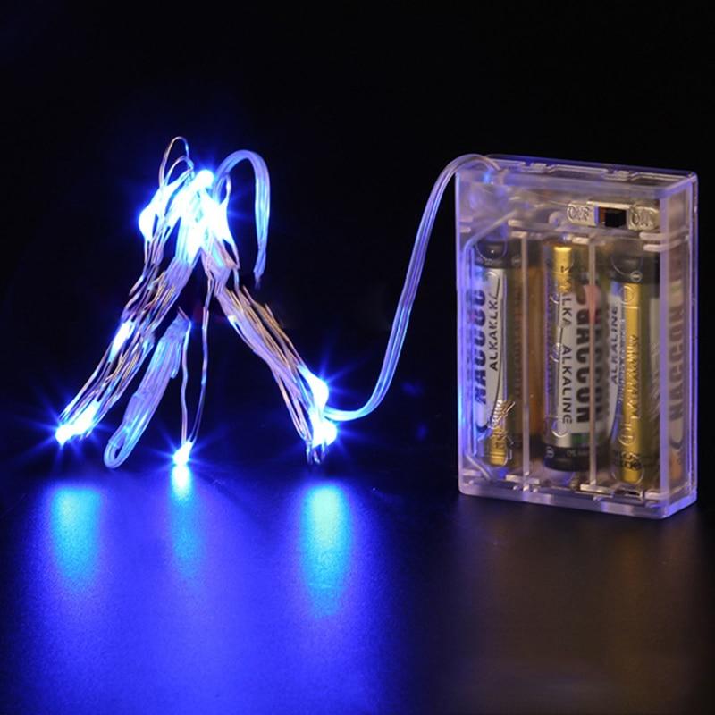 Aliexpress Com Buy 2m 5m 10m Led Strip Light Aa Battery