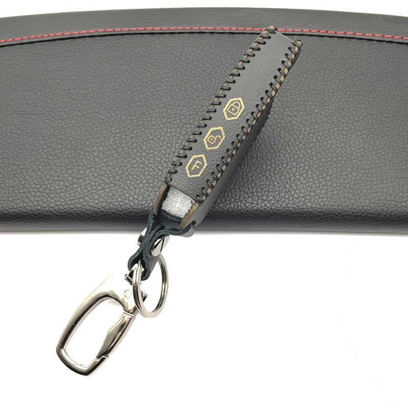 Кожаный чехол для ключей, кольцо для ключей для тамарки PANDORA DXL3000 LCD AndyGo D073 DXL 3100/3170/3300 i-mod, крышка системы сигнализации с дистанционным управлением