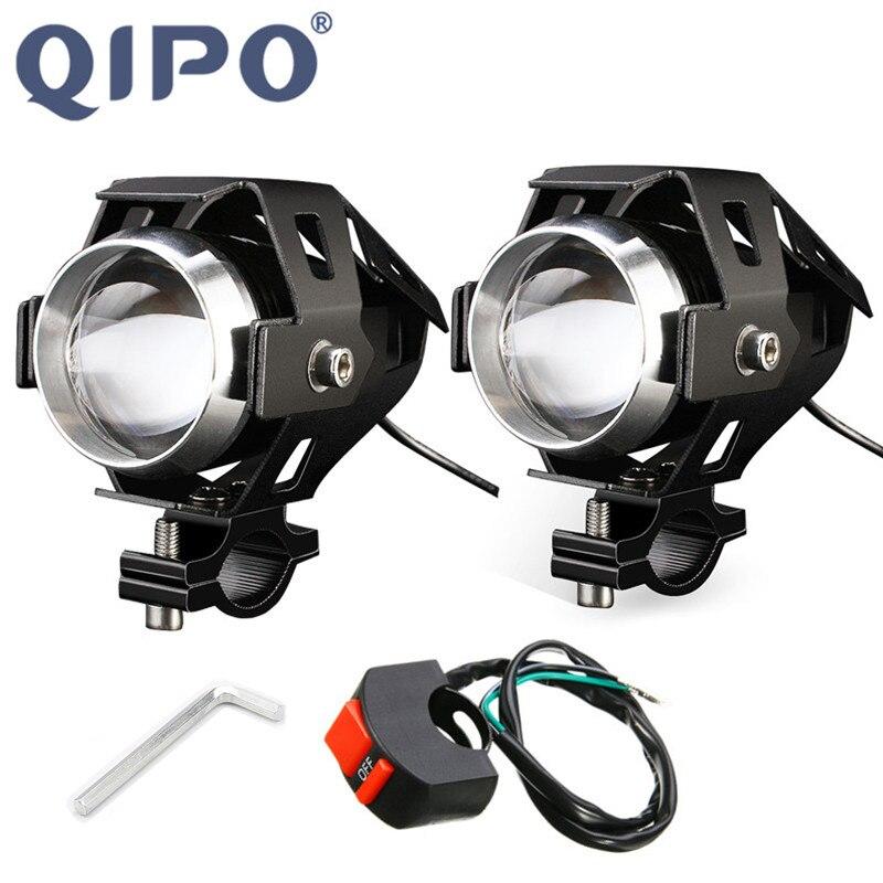qipo-オートバイバイクヘッドライト電球ランプ-u5-led-スポットライト-hi-lo-フラッシュアクセサリー-12v-モータ用ホンダヤマハ