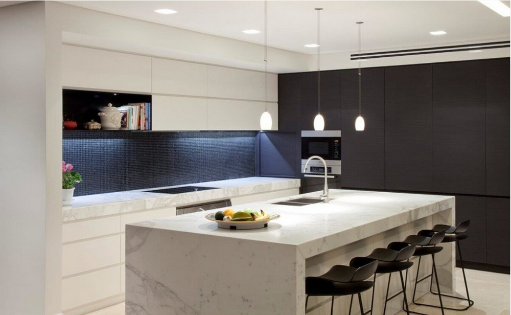 2016 New Design Superior Modern High Gloss Kitchen Cabients Furnitures For Modular Unit Manufacturers