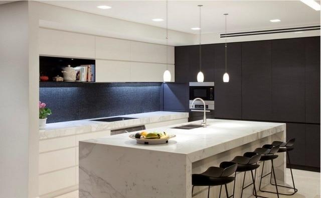 Moderne Hoogglans Keuken : Nieuwe ontwerp superieure moderne hoogglans keuken cabients