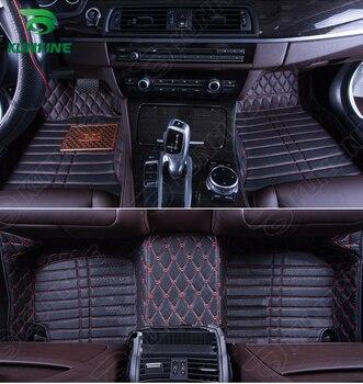 Top Quality 3D car floor mat for Audi A4L foot mat car foot pad 4 colors Left hand driver drop shipping