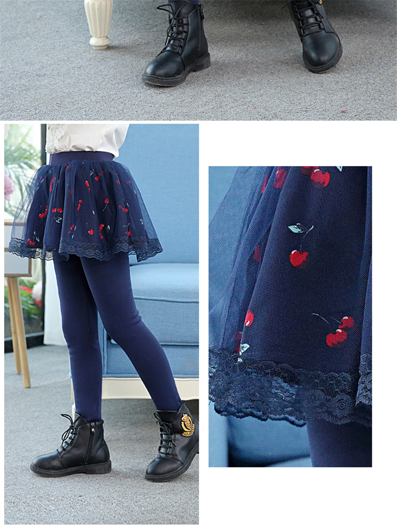 teenage girls legging with skirt08