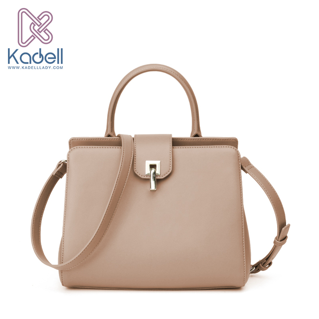 Kadell 2017 Winter Fashion Handbags Women Famous Brands High Quality Bolsa Feminina Single Lock Catch Shoulder Bag PU Leather