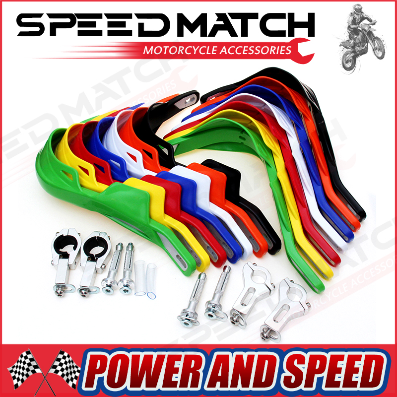 free shipping Rally Handlebar Hand Guards Handguard Protector Protection 22 28mm Alloy Insert Pit Dirt Bike Motorcycle Motocross