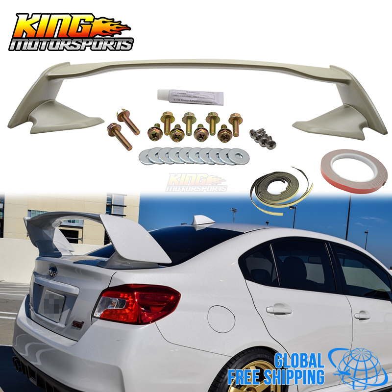 For 2015 2016 Subaru Impreza Wrx Sti Style Rear Trunk