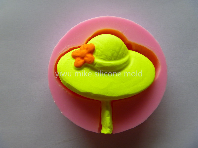bake tool factory shop,cap design cake silicone fondant mold for cake decorating tools mk-577