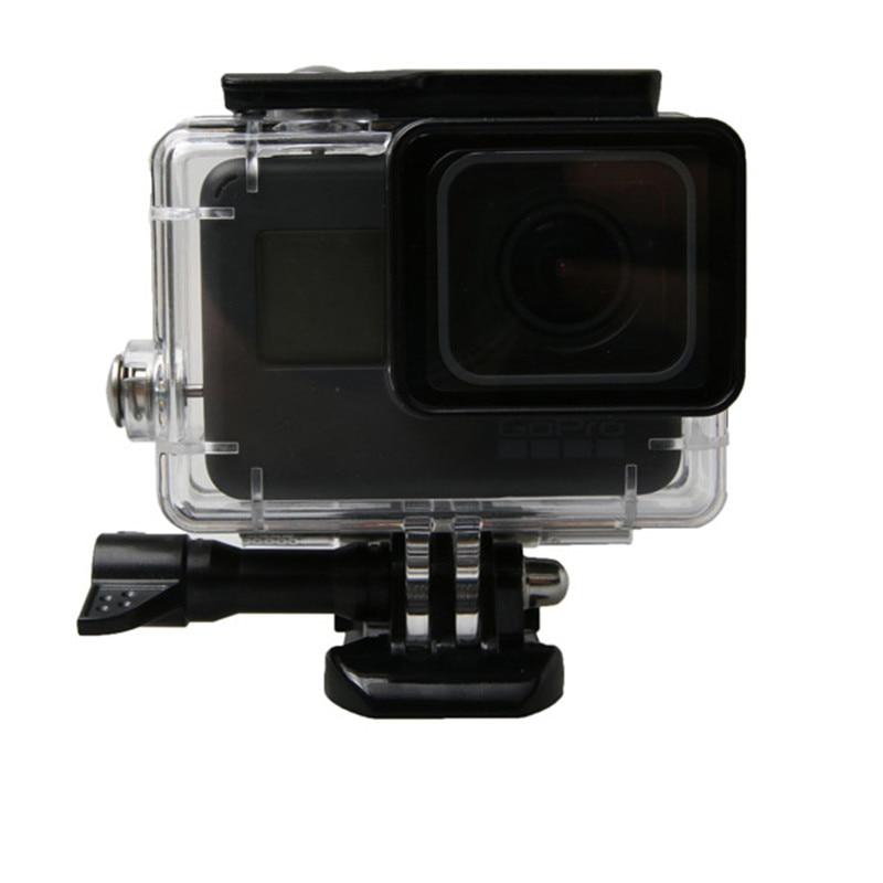 Sualtı Su Geçirmez Konut Case Go Pro Hero 6 5 45 M GoPro Hero 5 6 - Kamera ve Fotoğraf - Fotoğraf 1