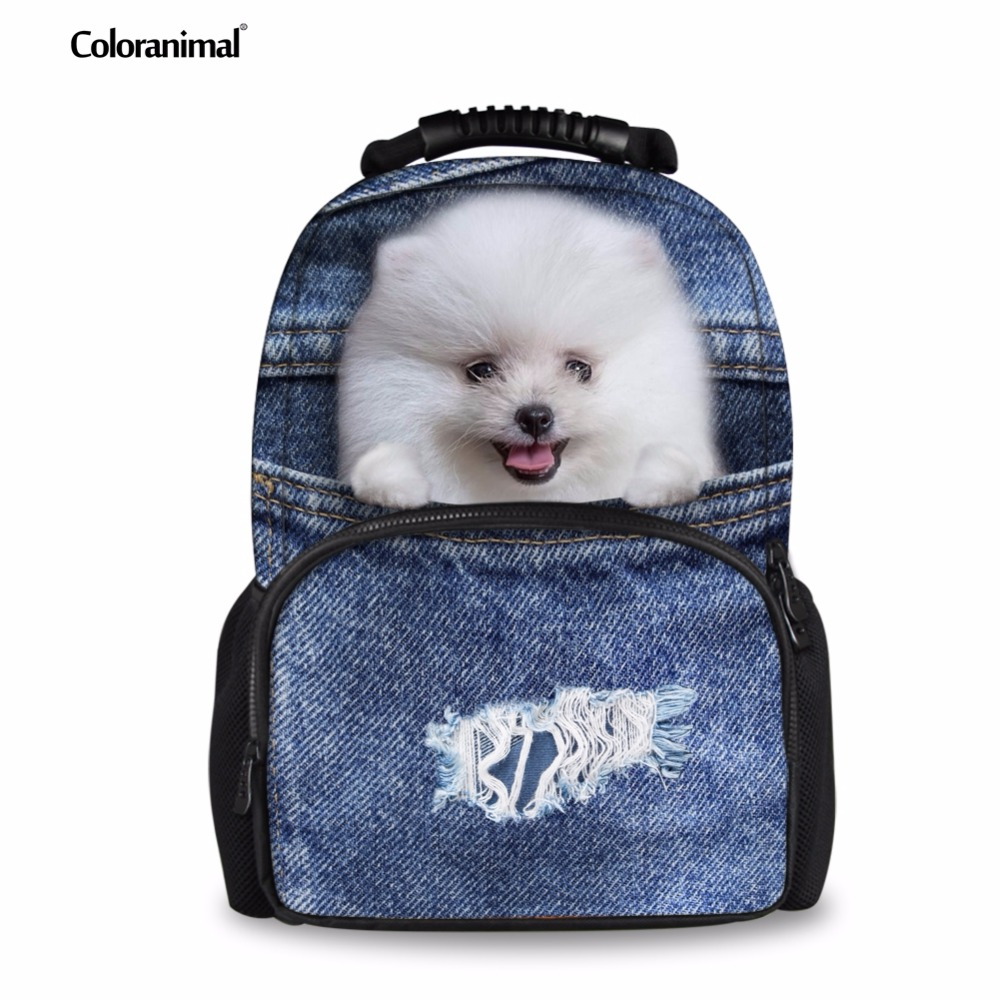 Amiable Forudesigns School Bag For Teenager Boys Children Galaxy Animal Dog Printing Schoolbag Big Capacity School Backpack Kids Mochila Sale Price Kids & Baby's Bags