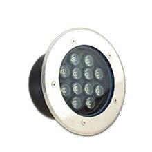 IP68 светодиодный подземный светильник 5 Вт 10 Вт 12 Вт напольный светильник для улицы наземный сад квадратная дорожка погребенный двор пятно Пейзаж 85-265 в 12 В 24 В