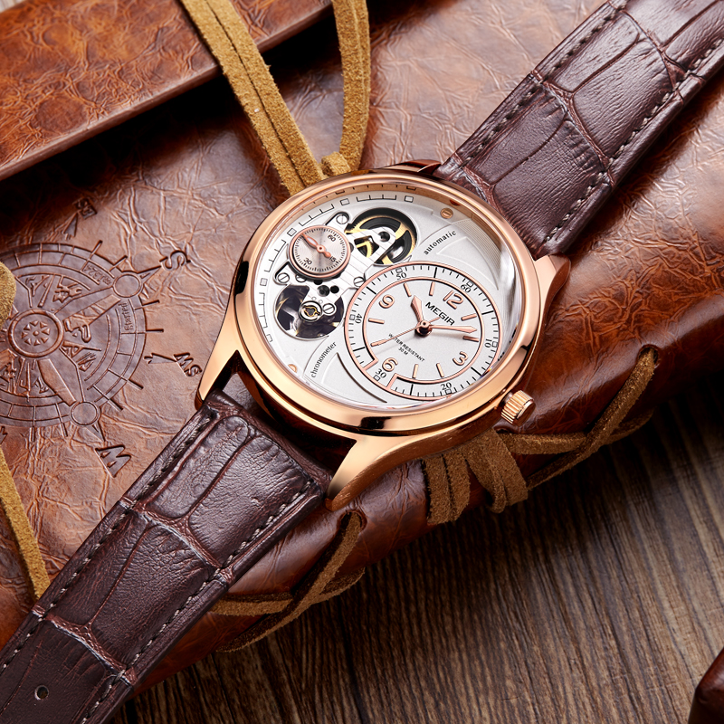 MEGIR Quartz Watch Men Fashion Brand Watches Men's Luxury Leather Band Waterproof Wristwatches Clock Male Relogio Masculino sunward relogio masculino saat clock women men retro design leather band analog alloy quartz wrist watches horloge2017