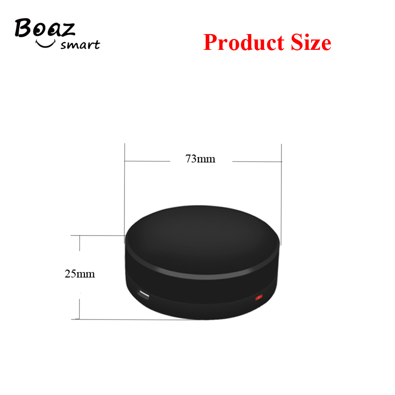 Boazsmart IR Bridge Google Home Alexa Echo Control for Infrared Air condition Fan TV Universal Remote Control By Mobile Phone in Smart Home Control from Home Improvement
