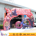 2016 amusement park inflatable cartoon decorative arch gate for welcome 9.6 m toy