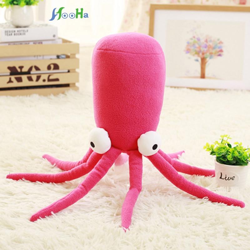 Kawaii Cartoon Plush Octopus Toys Creative Stuffed Lucky Fish Ocean Animal Doll Birthday Gift Home Shop Restaurant Decor Triver