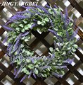 42cm Artificial flowers silk lavender wreath weeding decoration for the head take photo fashion single product