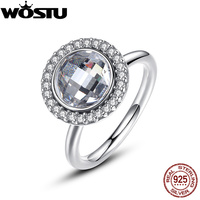 Hot Sale 925 Sterling Silver Brilliant Legacy Stackable Wedding Rings With Clear CZ For Women Original