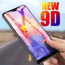 9D Tempered Glass On For Huawei P20 lite P20 Pro PLUS P Smart 2019 Screen Protector Honor 8X 8 9 Lite 10 light glass cover case(China)
