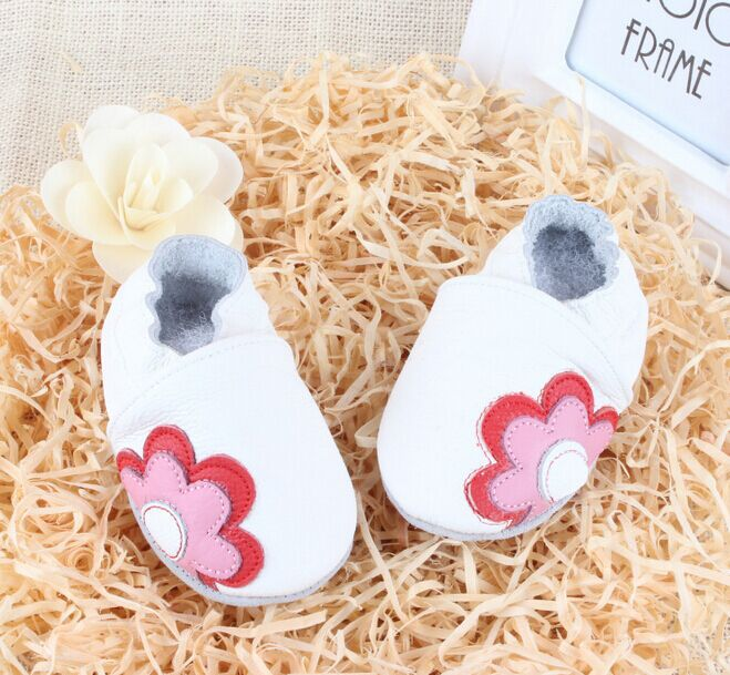 ФОТО new baby boots brand genuine leather soft sole baby  genuine leather toddler shoes  baby shoes first walker